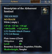 Breastplate of the Abhorrent Sentinel