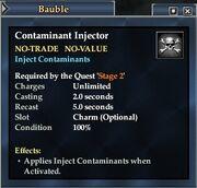 Contaminant Injector