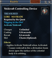 Voidcraft Controlling Device