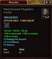 Wind Scoured Chaplain's Circlet