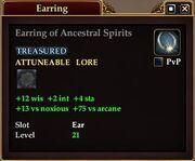 Earring of Ancestral Spirits