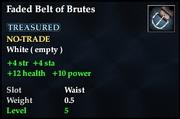 Faded Belt of Brutes