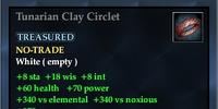 Tunarian Clay Circlet