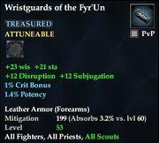 Wristguards of the Fyr'Un