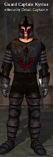 Guard Captain Kyrius