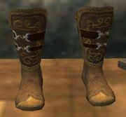 The Legendary Journeyman's Boots (Visible)