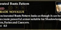 Incinerated Boots Pattern