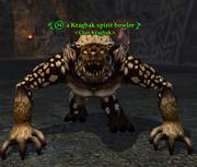 A Kragbak spirit howler