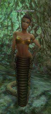 A naiad waterworker (Enchanted Naiad Grotto)