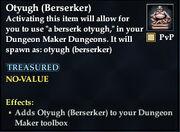 Otyugh (Berserker)