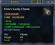 Evric's Lucky Charm