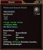 Wildwood Round Shield