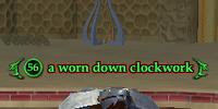 A worn down clockwork