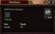 Deklium torque