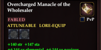 Overcharged Manacle of the Wholesaler
