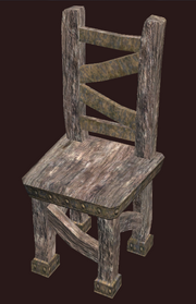 A pristine generic elm chair (Visible)