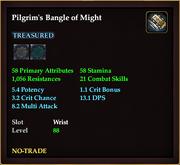 Pilgrim's Bangle of Might