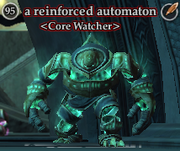 A reinforced automaton