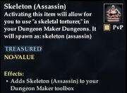 Skeleton (Assassin)