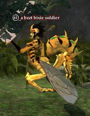 A bzzt bixie soldier