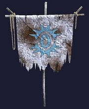 A frosted Order of Rime banner (Visible)