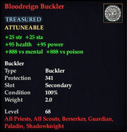Bloodreign Buckler