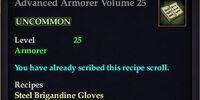 Advanced Armorer Volume 25
