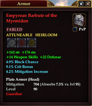 Empyrean Barbute of the Myrmidon