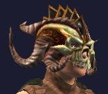Hoo'Loh's Customized Necromantic Hat (Equipped)