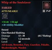 Whip of the Soulslaver