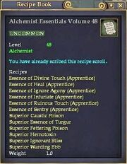 Alchemist Essentials Volume 48