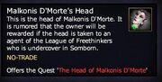 Malkonis D'Morte's Head