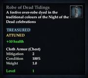 Robe of Dead Tidings