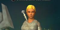 A Bloodsaber cult leader