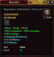 Rujarkian Ambusher's Manacle