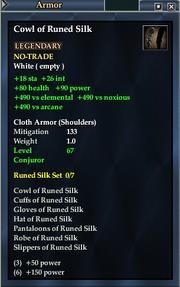 Cowl of Runed Silk