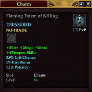Flaming Totem of Killing