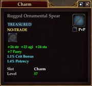 Rugged Ornamental Spear