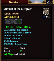 Amulet of the Lifegiver