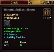 Powerful Stalker's Shroud