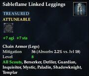 Sableflame Linked Leggings