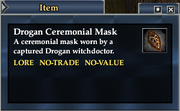 Drogan Ceremonial Mask