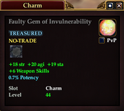 Faulty Gem of Invulnerability