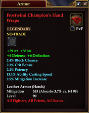 Frostwind Champion's Hand Wraps