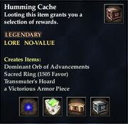 Humming Cache