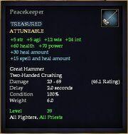 Peacekeeper (Equip)