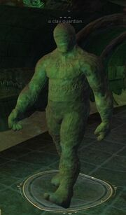 Clay guardian