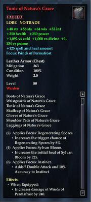 Tunic of Naturas Grace