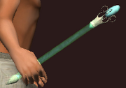 Crystal Wand of Energy Channeling (Equipped)