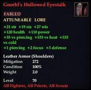 Gnorbl's Hollowed Eyestalk